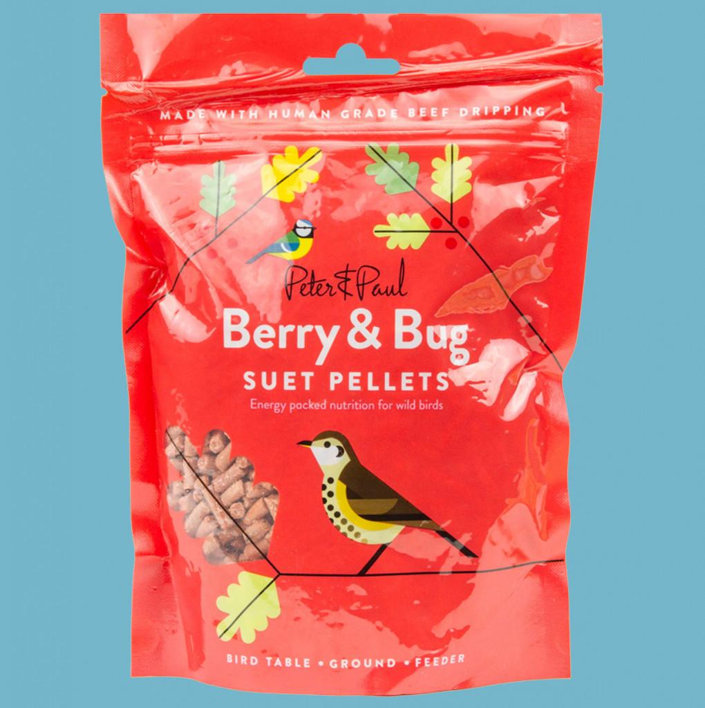 Berry & Bug Suet Pellets