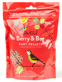 Berry & Bug Suet Pellets